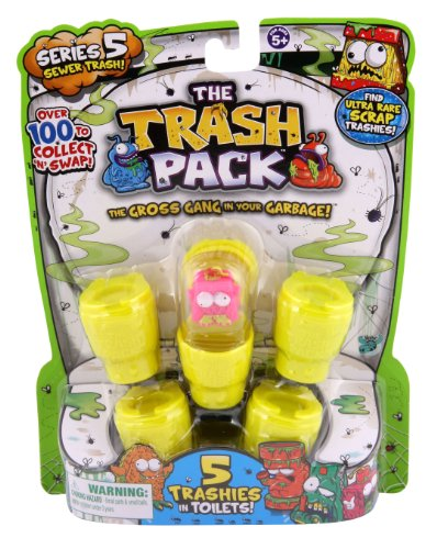 The Trash Pack Series 5 Sewer Trash Random Figure 5 Pack