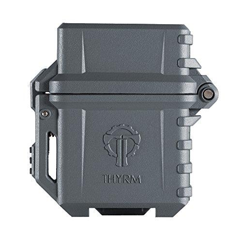 Thyrm PyroVault - Armadura para mechero, compatible con Classic Zippo Fluid Inserts, Gris (Urban Grey), 1