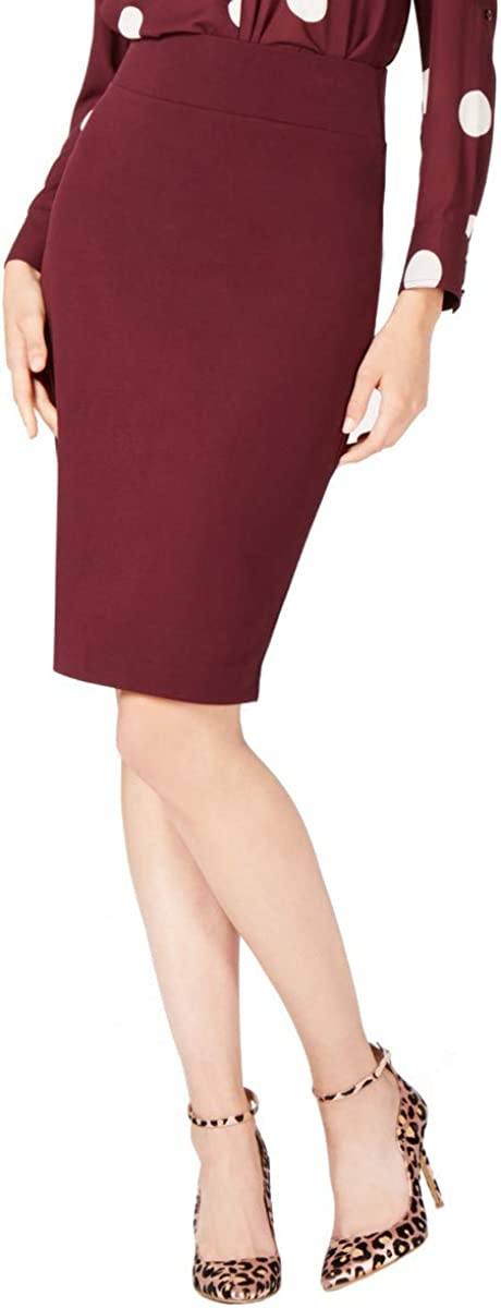 INC Women's Regular Pull On Wear To Work Straight Pencil Skirt