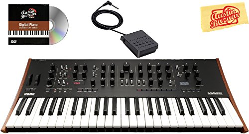 Fantastic Prices! Korg Prologue 8 Polyphonic Analogue Synthesizer Bundle with Sustain Pedal and Aust...