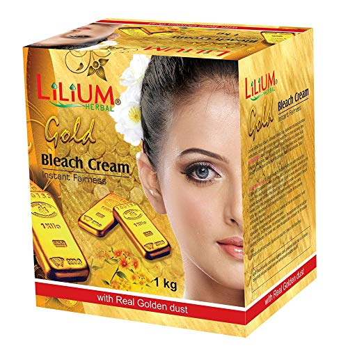 Lilium Herbal Gold Instant Fairness Bleach Cream; 1 Kg