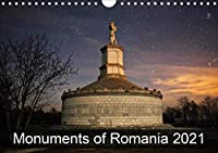 Monuments of Romania 2021 (Wall Calendar 2021 DIN A4 Landscape): The best photos from Wiki Loves Monuments, the world's largest photo competition on Wikipedia (Monthly calendar, 14 pages )
