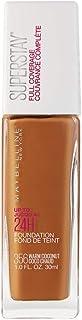 Maybelline Super Stay Full Coverage Liquid Foundation Makeup, Warm Coconut, 1 Fl Oz