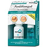 Nail Tek Anti Fungal Kit, Anti Fungal + Travel Size Renew, Treats Finger and Toenail Fungus, Conditions and Protects Cuticles and Nails