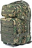 Mil-Tec EE.UU. Mochilla Assault Pack (Small/Digital Woodland)