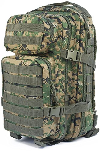 Mil-Tec US Assault Pack Backpack (Large/Digital Woodland)