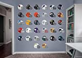 Fathead NFL League Logo NFL - Helmet Collection- Officially Licensed Removable Wall Decals, Multicolor, Giant - 11-10129
