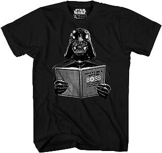 STAR WARS Darth Vader Dark Side Empire Funny Humor Pun Adult Men's Graphic Tee T-Shirt