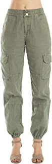 Women's High Rise Cargo Jogger - Non Denim - KC7272
