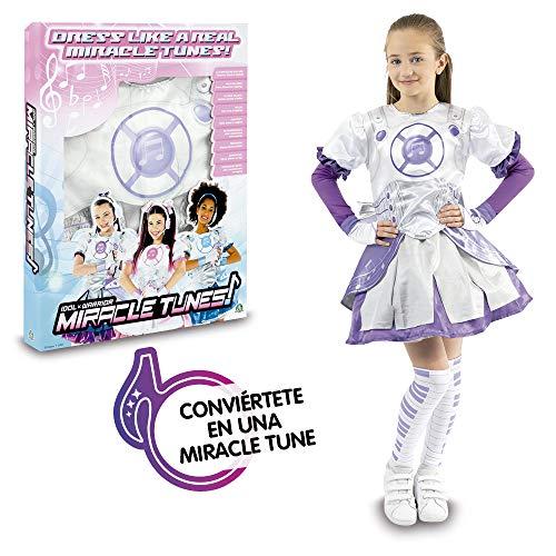 Giochi Preziosi- Miracle Tunes Vestito/Costume, Colore Bianco/Viola, Tagli Assortiti, MRC06000