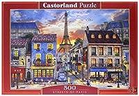 Puzzle de loisir de 500pièces. Dimensions : 470x 330mm. Excellente qualité d'impression. Profondeur des couleurs exceptionnelle. Grands nombres de détails.