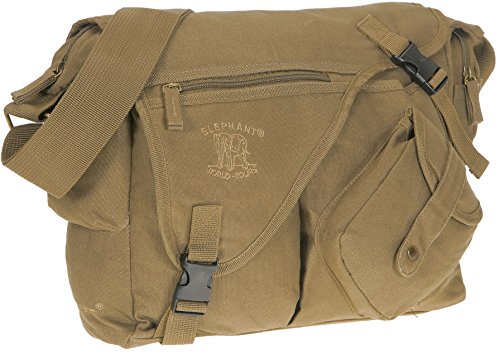 Elephant Canvas Kuriertasche JACK BAG Canvastasche DIN A 4 3520 (NATURE)