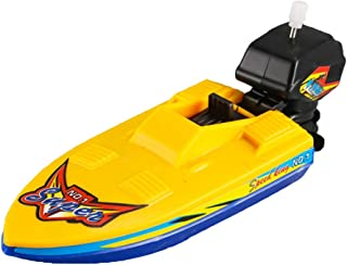 FunPa Wind up Boat Toy Funny Floating Boat Toy Pool Toy Bathtub Toy for 1-4 Years Old Kids
