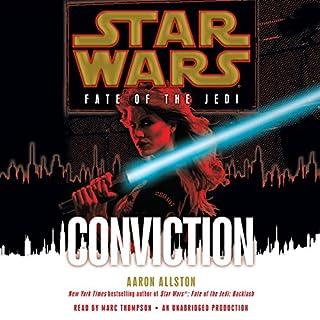 Star Wars: Fate of the Jedi: Conviction audiobook cover art