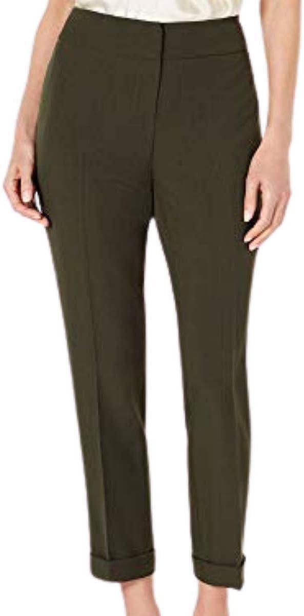 Kasper Womens Green Wear to Work Pants Size 12