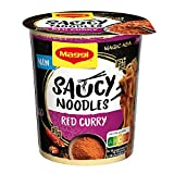 Maggi Magic Asia Saucy Noodles Red Curry Cup, 1er Pack (1 x 75g) (Lebensmittel & Getränke)