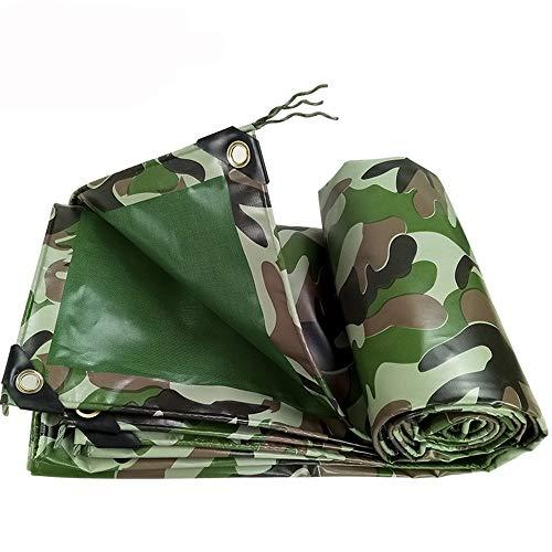 Jiayuan zonnezeil, waterdicht, camouflage en poedercoating, dubbelzijdig, 100% waterdicht, afzuigkap buiten, 450 g/m2, 0,4 mm, waterdicht