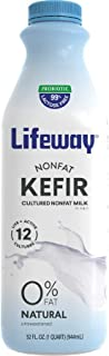 Lifeway, Kefir Plain Fat-Free, 32 Fl Oz