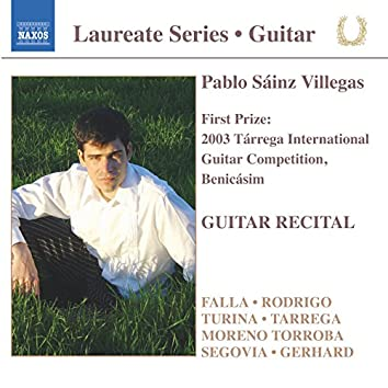Guitar Recital: Pablo Sainz Villegas