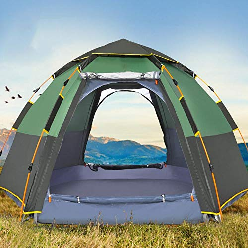 AOGUHN tent - Quick Automatic Open Tent 5 Persoon Dubbele Laag Grote Camping Familie Voor Outdoor Recreatie Party Tenten Awning Beach Tent