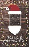 Fröhliche Weihnachten - Sudoku: Kleines Rätselbuch | Schöne Geschenk Idee für Julklapp,...