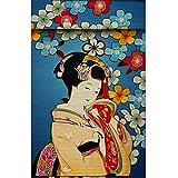 ZAQ Bambusrollo Rollos Verdunkelungsjalousien mit japanischem Thema, Pavillon-Korridor-Rollläden mit Volant, Bambus-Sonnenschirm, 50 cm / 65 cm / 80 cm / 95 cm breit (Size : 50×125cm)