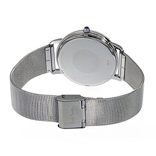 [ポールスミス]PaulSmithペアBOX付メンズレディースペアウォッチMAブラックシルバーメッシュベルトステンレスP10055P10054腕時計[並行輸入品]