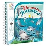 Smart Games Magnetische Reisespiele Flippin Dolphins, Reisespiel, Kinderspiel, Kinder Spiel, ab 7 Jahren, SGT 310-8