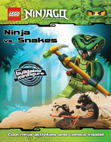 Lego Ninjago: Ninja vs. Snakes [With Buildable Minifigure] (Lego Ninjago, Masters of Spinjitzu)