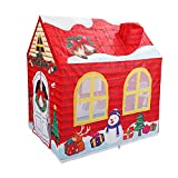 STLOVe Tienda de campaña para niños, regalos de Navidad o cumpleaños juguetes para niña niño niño niño niño casa de juego, interior y exterior grande tienda de juegos para niños 107 x 73 x 100 cm