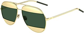 Christian Split 1 Rose Gold with Green Lenses Color 000 85 Size 59