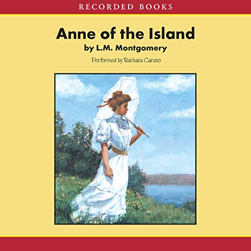 Anne of the Island audiobook cover art