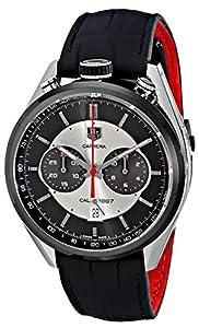 TAG Heuer Men's CAR2C11.FC6327 Carrera Analog Display Swiss Automatic Black Watch image