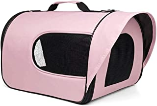 MAOSHE Pet Bag Pet Bag Out Portable Bag Portable Folding Backpack Dog Dog Space Capsule Pet Bag (Size : M)