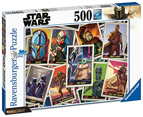 RAVENSBURGER PUZZLE 16561 16561-Star Wars: Mandalorian-500 Teile, White