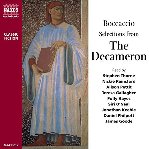 Selections from The Decameron audiobook cover art