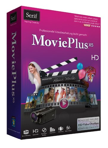 Serif MoviePlus X5 - Software de video (2400 MB, 1024 MB,