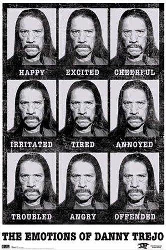 Close Up Póster Danny Trejo Emotions/Emociones (57cm x 86,5cm)