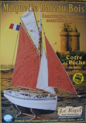 Soclaine Le Rigel - Maqueta de Barco velero (Escala 1:20)