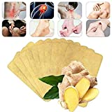 20 PCS Herbal Ginger Patch, Natural Solutions for Lymphatic Drainage, Ginger Extract Foot Pads to Promote Blood Circulation, Relieve Pain and Improve Sleep, Joint Pain and Flatulence … (20pcs)