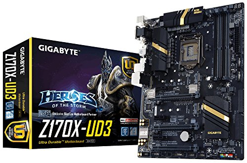 GIGABYTE GA-Z170X-UD3 LGA1151/ Intel Z170/ DDR4/ 3-Way CrossFireX & 2-Way SLI/...