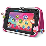 VTech - Storio Max XL 2.0, Tablet educativo multifunción 7', especialmente diseñado para niños, cámara 180º para fotos y selfies, vídeos, juegos, cine, historias, color rosa, versión ESP (80-194657)