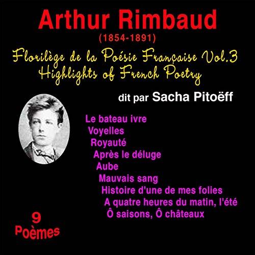 Couverture de Arthur Rimbaud (Florilège de la Poésie Française 3)