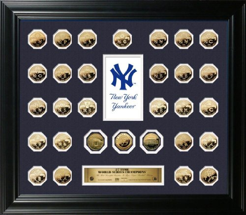 Mickey Mantle Framed with Bronze Coin