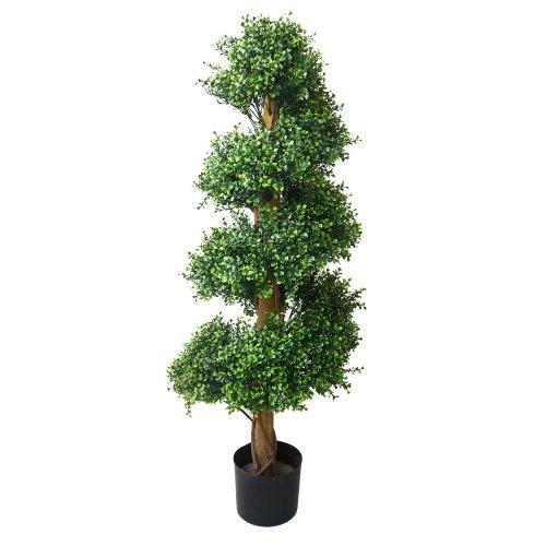 Pure Garden Boxwood Spiral Tree, 48'