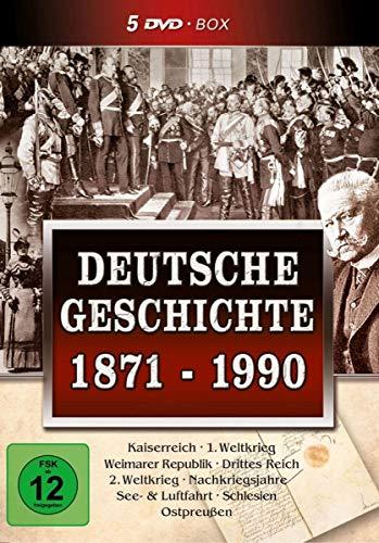 Deutsche Geschichte 1871-1990 (5 DVD Schuber)