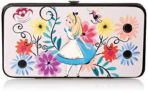Buckle-Down – portafolios con bisagra para mujer, diseño de Alicia en el país de las maravillas, 7 x 4…