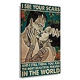 CZFYY The Bride of Frankenstein Poster-Dekoration für
