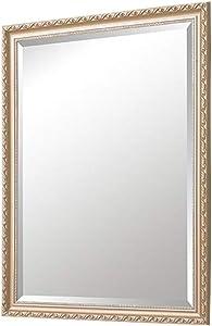 GYY Miroir européen de Salle de Bains Miroir Mural de Salle de Bains Toilette Miroir de Salle de Bains Miroir de Toilette Américain Miroir de Maquillage américain (Color : Multi, Size : Colored)