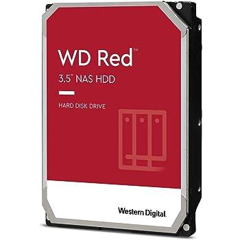 "Western Digital 6TB WD Red NAS Internal Hard Drive - 5400 RPM Class, SATA 6 Gb/s, SMR, 256MB Cache, 3.5"" - WD60EFAX"